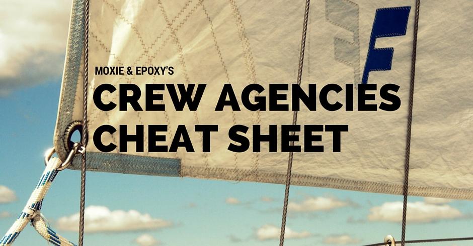 crew agencies cheat sheet