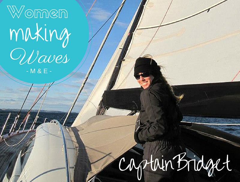 Seeing the World Through the Eyes of a Sailor: Captain Bridget